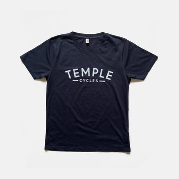 Temple Logo Tee - French Navy
