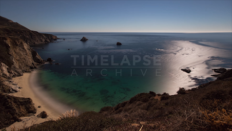 Time-lapse Big Sur: Bixby Creek Star Trails