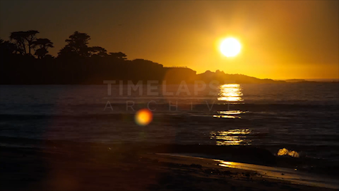 Time-lapse Big Sur: McWay Cove Sunset