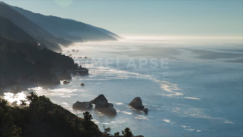 Time-lapse Big Sur: Pfeiffer Coastline