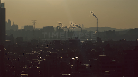 Time-lapse Seoul: Dangin-Dong Smokestacks
