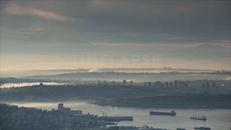 Time-lapse Vancouver: Mount Baker & Burnaby