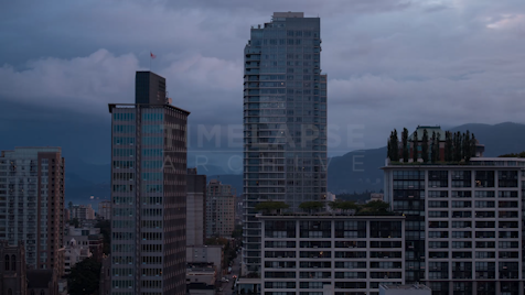 Time-lapse Vancouver: Apartments Day To Night