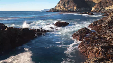 Time-lapse Big Sur: Pfeiffer Rocky Shore