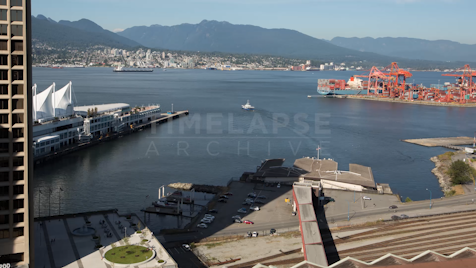 Time-lapse Vancouver: Canada Place Harbour