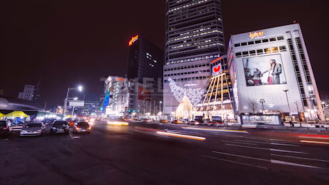 Time-Lapse Seoul: Dongdaemun Shopping Complex