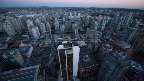 Time-lapse Vancouver: Skyline Day To Night