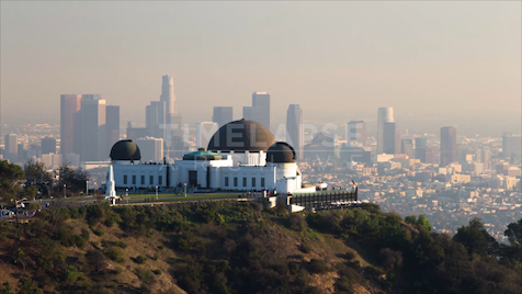 Time-lapse Los Angeles: Observatory Day To Night