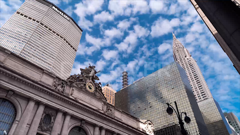 New York: Grand Central Clouds