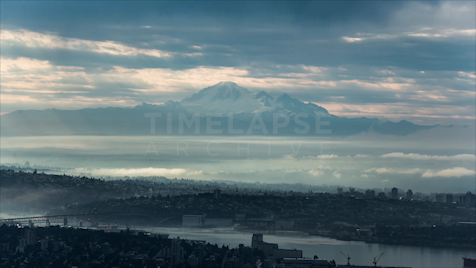Time-lapse Vancouver: Mount Baker From Cypress