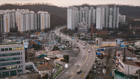 Time-lapse Seoul: Protest (Wide)