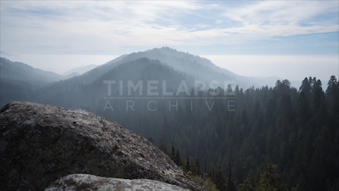 Time-lapse Yosemite: Valley Tunnel View