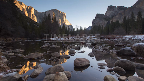 Time-Lapse Yosemite: Merced River Sunrise