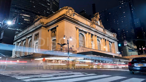 New York: Grand Central Terminal Night