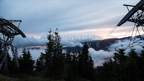 Time-lapse Vancouver: Grouse Mountain Gondolas