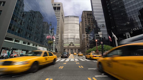 Time-lapse New York: Grand Central Park Ave