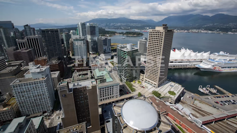 Time-lapse Vancouver: Vancouver Harbour From Above