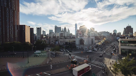 Time-lapse New York: Chinatown Manhattan Bridge