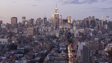 Time-lapse New York: Manhattan Skyline