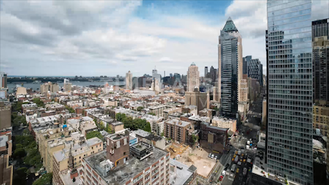 Time-lapse New York: Overlooking Hell's Kitchen