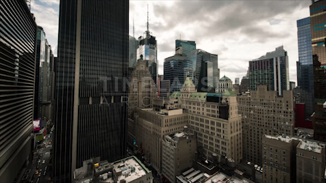 Time-lapse New York: From Midtown Roof Top