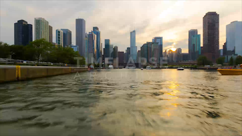Time-lapse Chicago: Boatlapse Chicago River