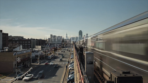 Time-lapse New York: Queens 46th Street Station