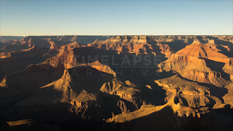 Time-Lapse Grand Canyon: Overcast Pan Right