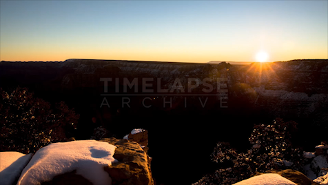 Time-Lapse Grand Canyon: Golden Hour Sunrise