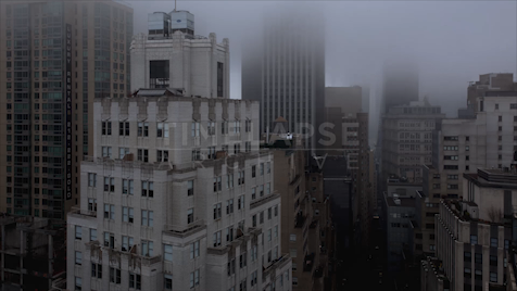 Time-lapse New York: FiDi Fog From John Street