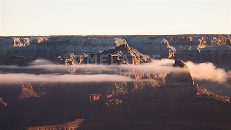 Time-Lapse Grand Canyon: Mather Point Fog
