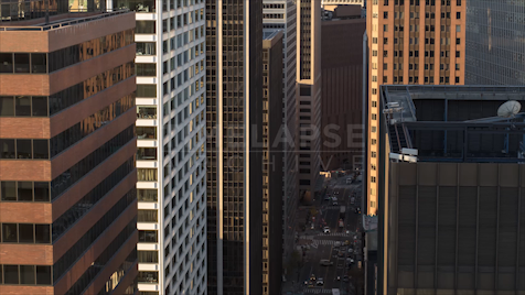 Time-lapse New York: FiDi From Water Street