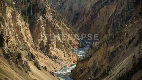 Time-lapse Yellowstone: Grand Canyon of Yellowstone 2