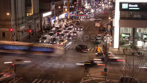 Time-lapse New York: Chinatown Bowery & Canal