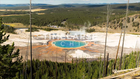 Time-lapse Yellowstone: Midway Geyser Basin Activity