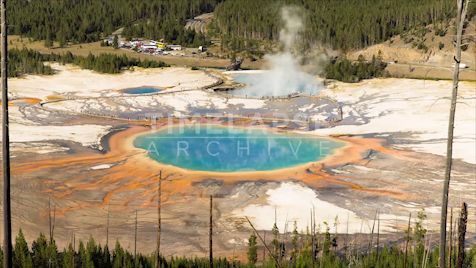 Time-lapse Yellowstone: Grand Prismatic 2