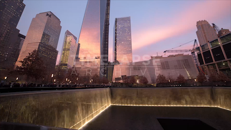 Time-lapse New York: 9/11 Memorial
