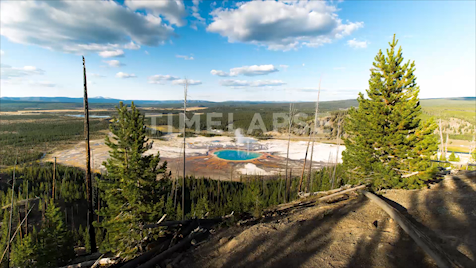 Time-lapse Yellowstone: Midway Geyser Basin