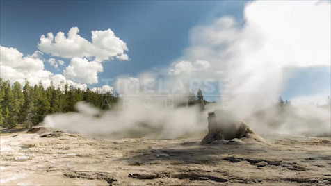 Time-lapse Yellowstone: Giant Geyser