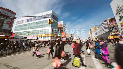 Time-lapse New York: Flushing Chinatown
