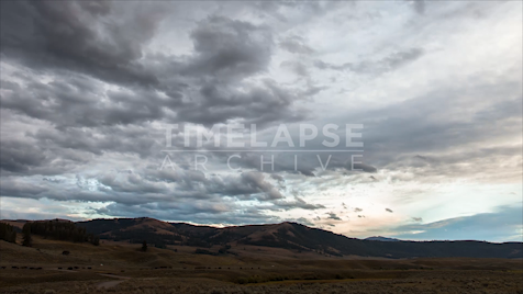 Time-lapse Yellowstone: Lamar Valley