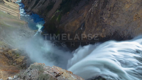 Time-lapse Yellowstone: Upper Falls