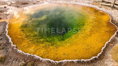 Time-lapse Yellowstone: Morning Glory Geyser