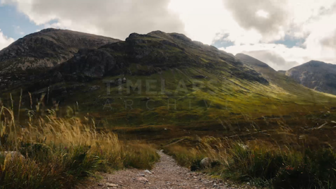 Time-lapse Scottish Highlands: Glen Coe Unnamed Mountain 3