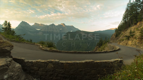 Time-lapse Montana: Going-to-the-Sun Road