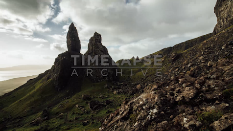 Time-lapse Scottish Highlands: Old Man Storr 2