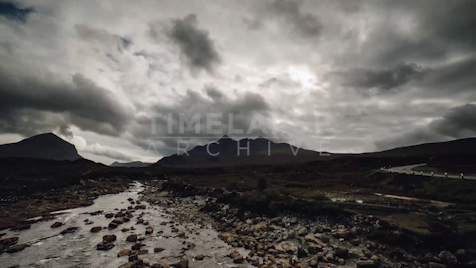 Time-lapse Scottish Highlands: Sligachan 2