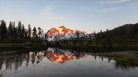 Time-lapse Washington: Mount Shuksan Dusk