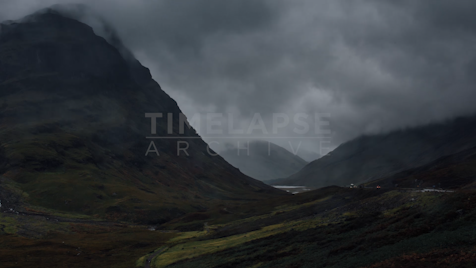 Time-lapse Scottish Highlands: Glen Coe Unnamed Mountain 4