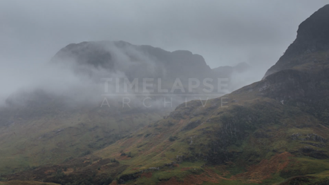 Time-lapse Scottish Highlands: Glen Coe Unnamed Mountain 5